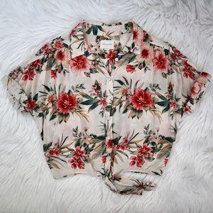 American Eagle Hawaiian Shirt